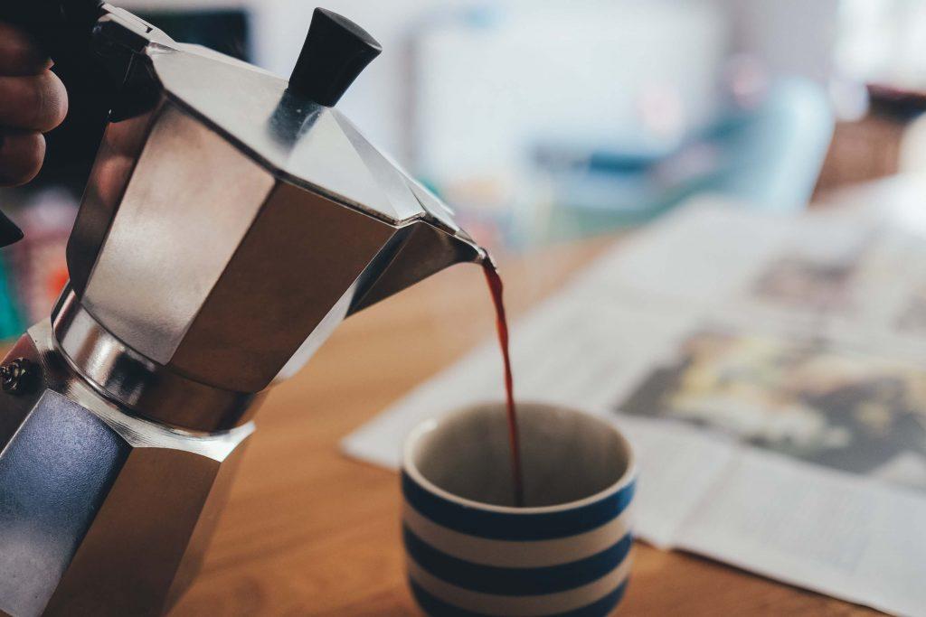 Caffettiera a BonVIVO Intenca